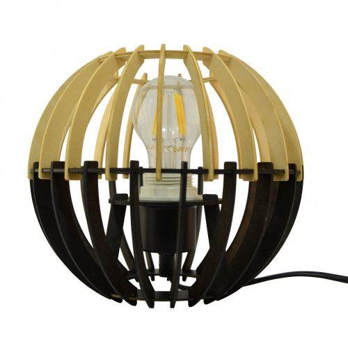 Lampe Coblence en bois