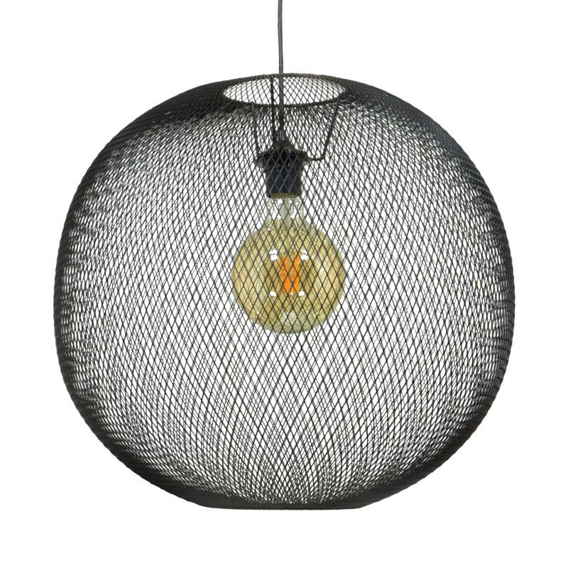 Suspension SERLINE - Sphère en grillage métallique