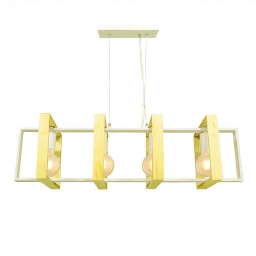 WOOLI - Suspension en bois et métal