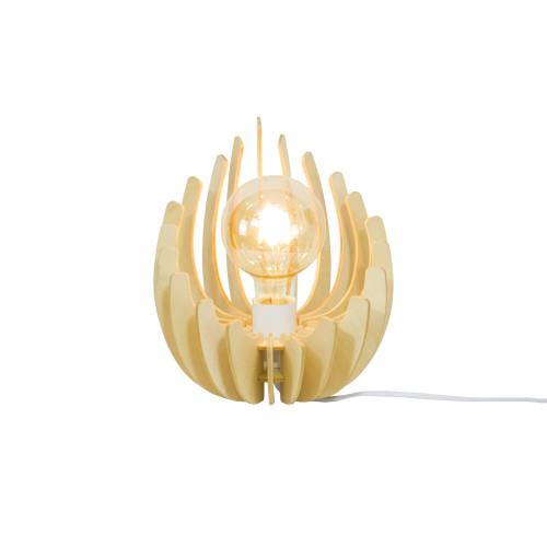 Lampe en lamelles de bois de peuplier - LOSA