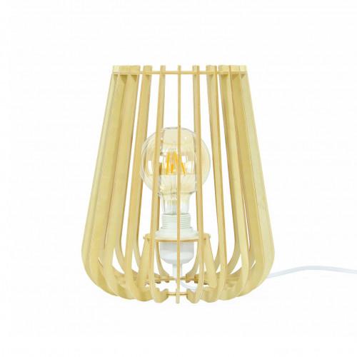 Lampe en lamelles de bois - ELSA