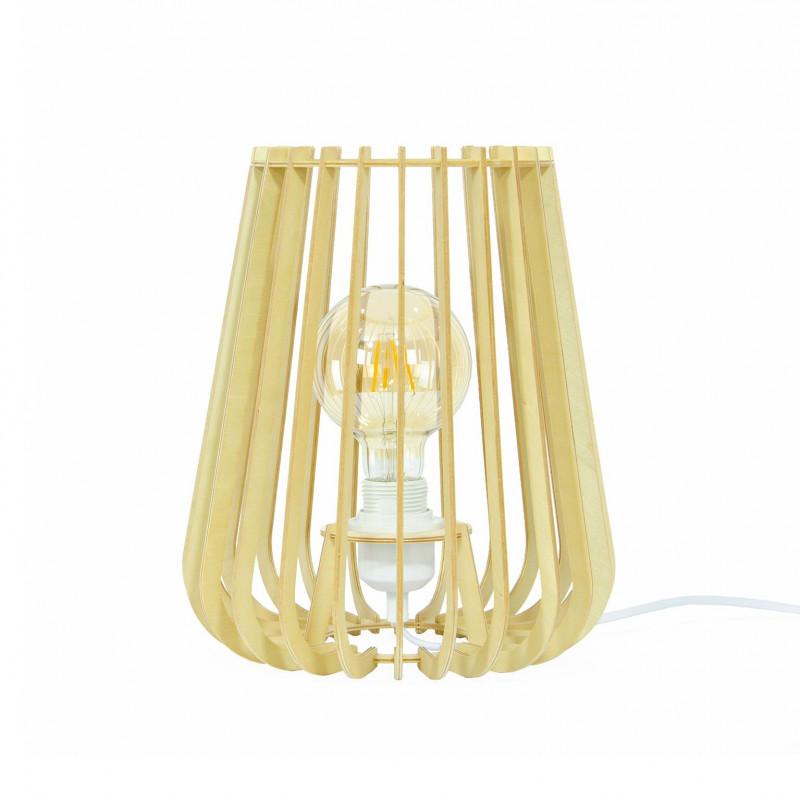 ELSA - Lampe en lamelles de bois contreplaqué