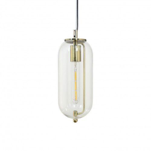 Petite suspension design Sensial p en métal et verre transparent