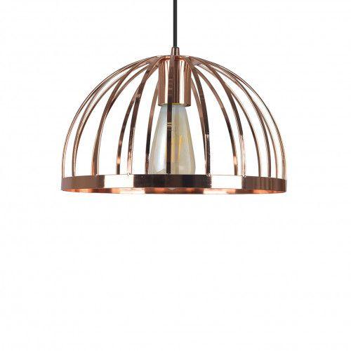 Suspension dôme filaire Mineote en métal peint