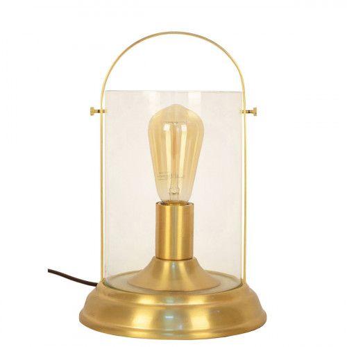 Lampe en métal et verre - LOCTUDY