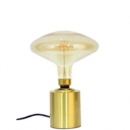 Pied de lampe Fuzo en métal doré